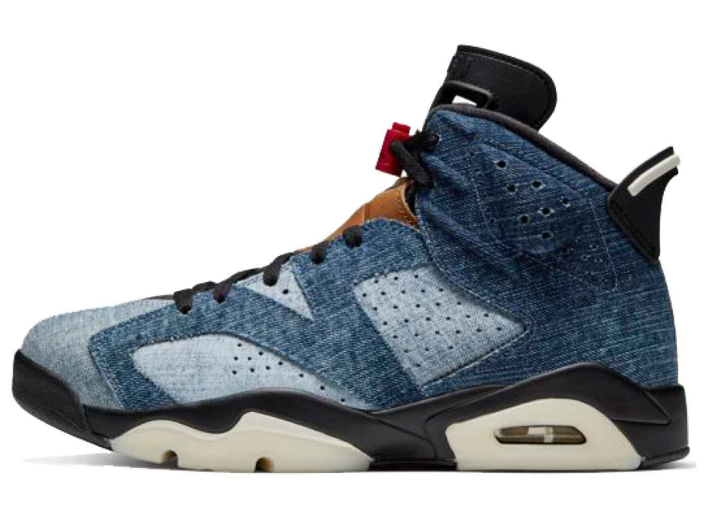 Nike Air Jordan 6 Retro Washed Denimの写真