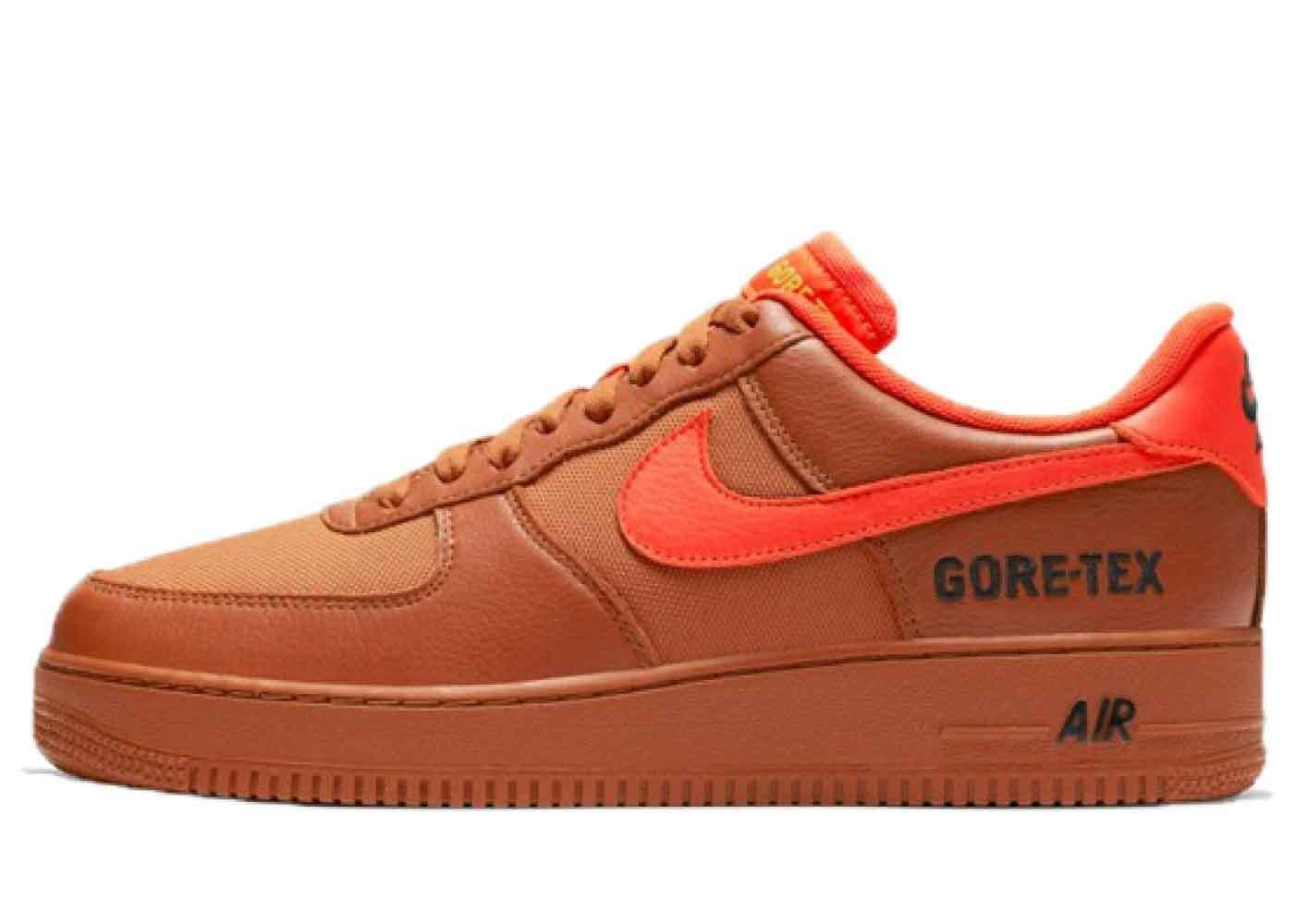 Nike Air Force 1 Low Gore-Tex Burnt Orangeの写真