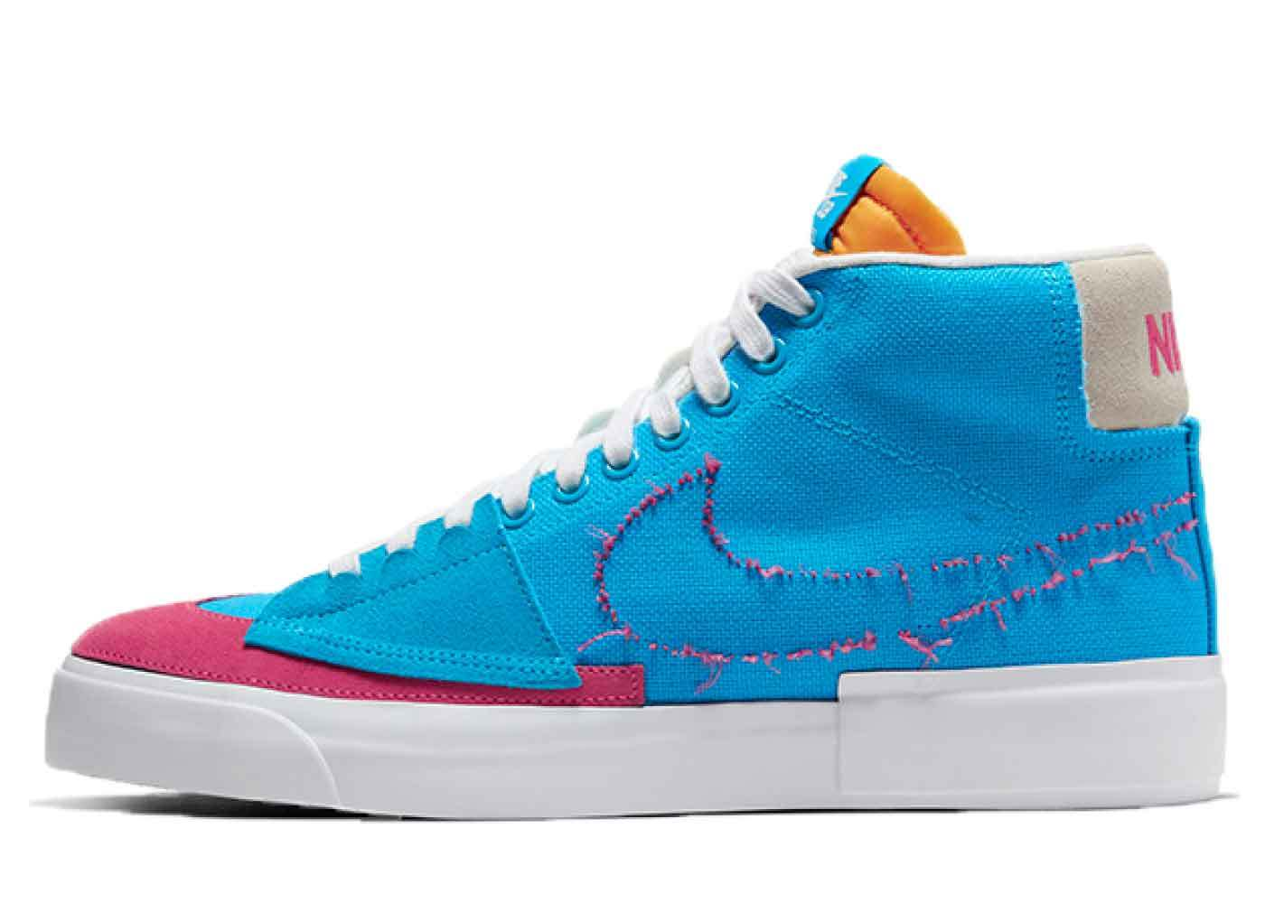 Nike SB Blazer Mid Edge Hack Pack Blueの写真