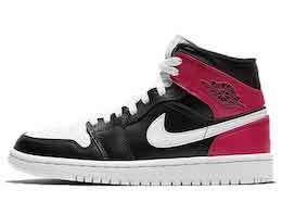 Nike Air Jordan 1 Mid BlackWhite 2020 Womensの写真