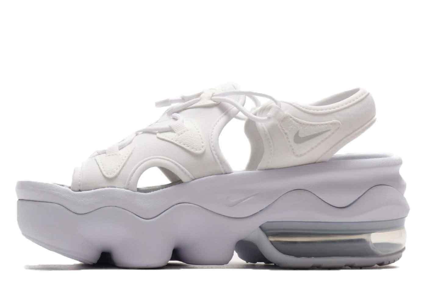 Nike Air Max Koko Sandal Triple White (Womens)の写真