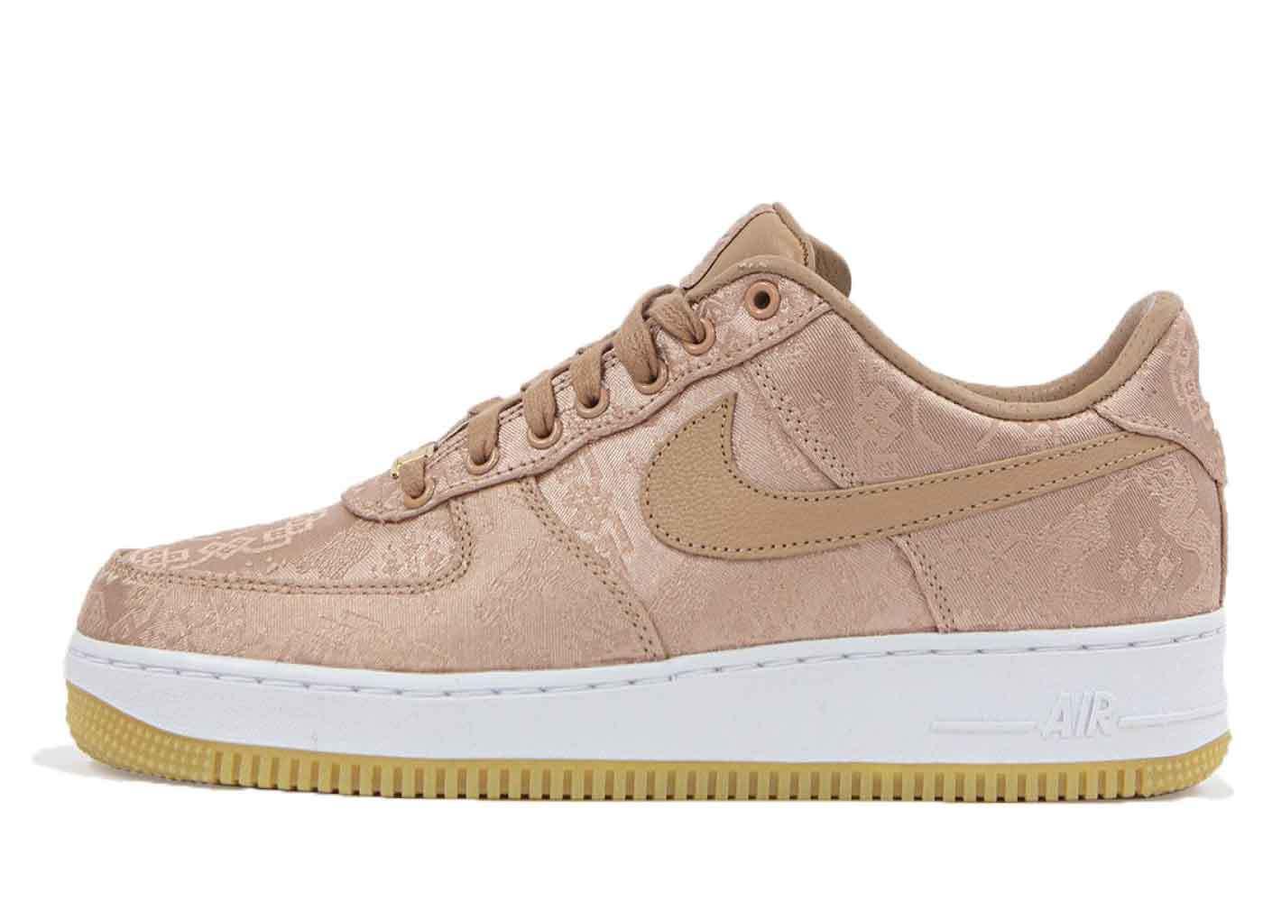 Clot × Nike Air Force 1 Low Rose Gold Silkの写真