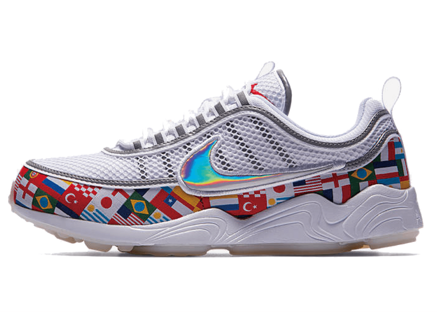 NIKE AIR ZOOM SPIRIDON '16 NIC QS WHITE/MULTI-COLORの写真