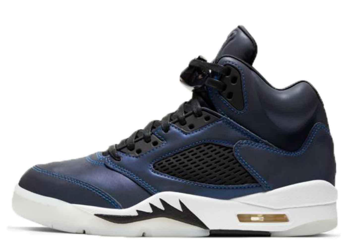Nike Air Jordan 5 Iridescent-Oil-Grey Womensの写真