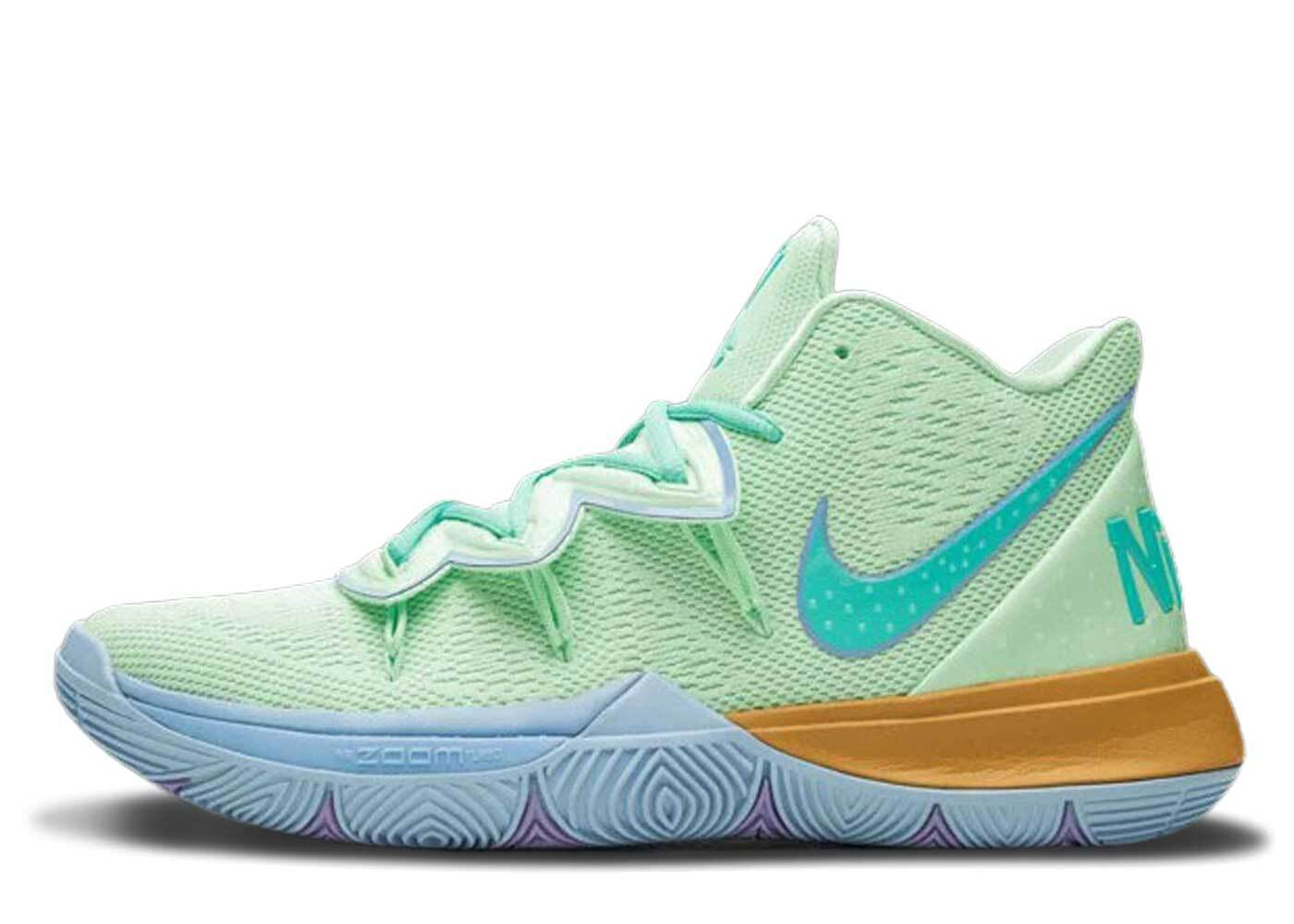 Nike Kyrie 5 Spongebob Squidwardの写真