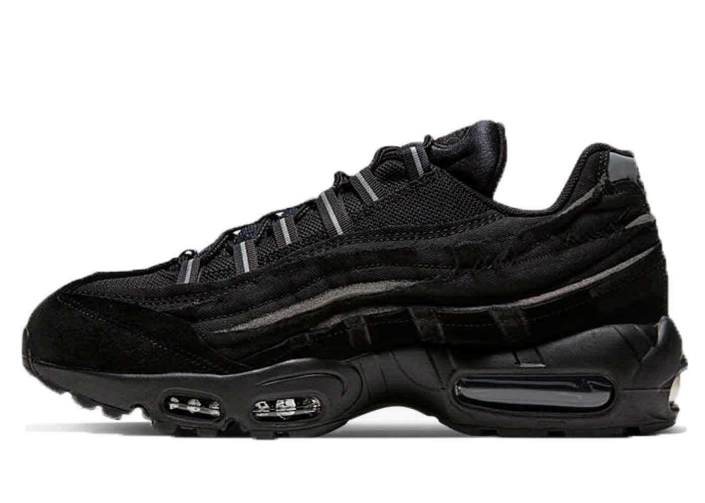 Comme des Garçons × Nike Air Max 95 Blackの写真