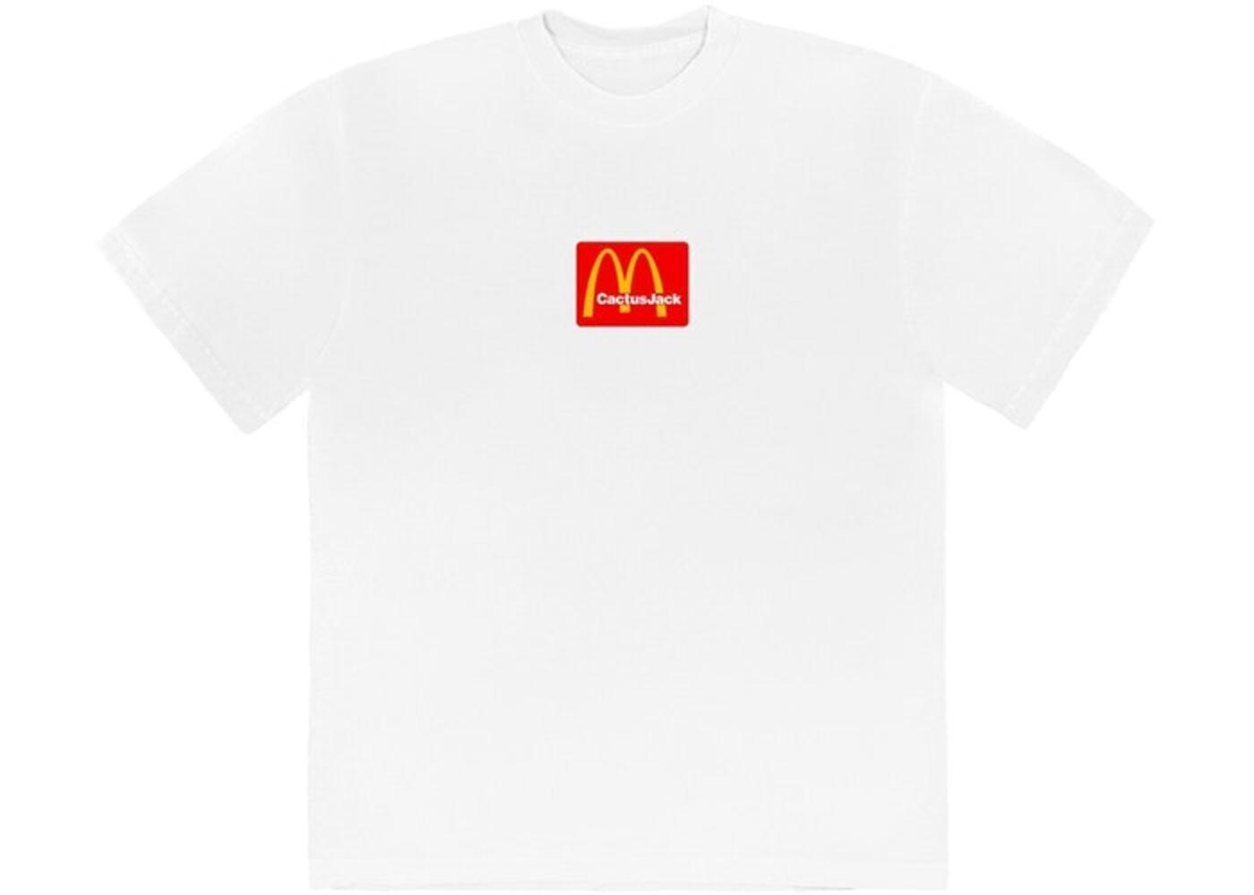 Travis Scott x McDonald's Sesame T-Shirt Whiteの写真