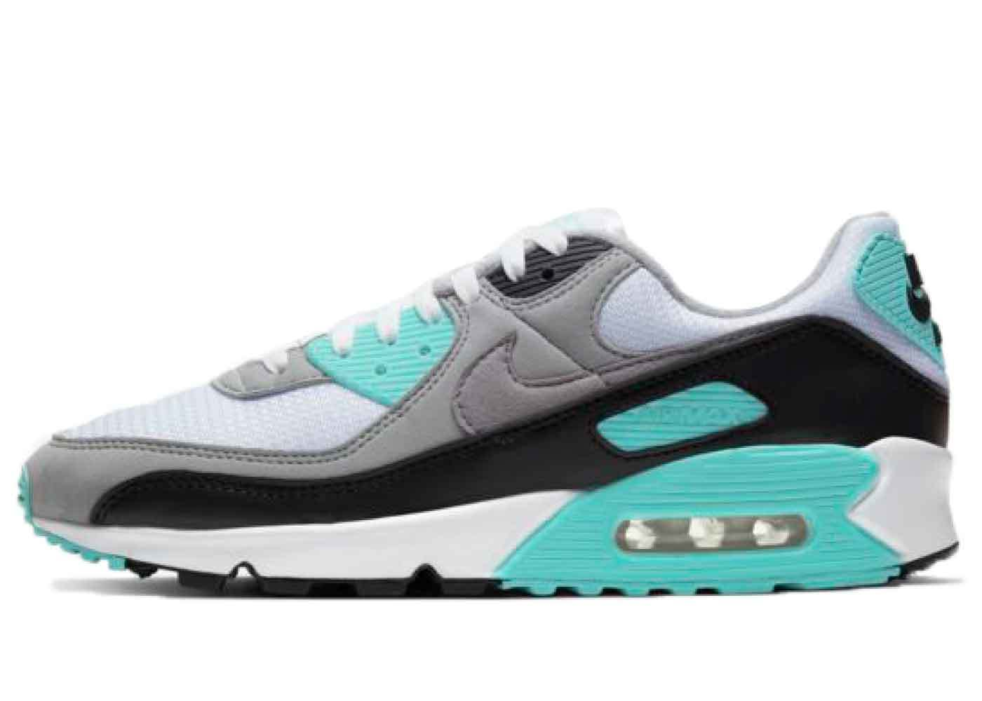 Nike Air Max 90 Turquoise/ Particle Greyの写真