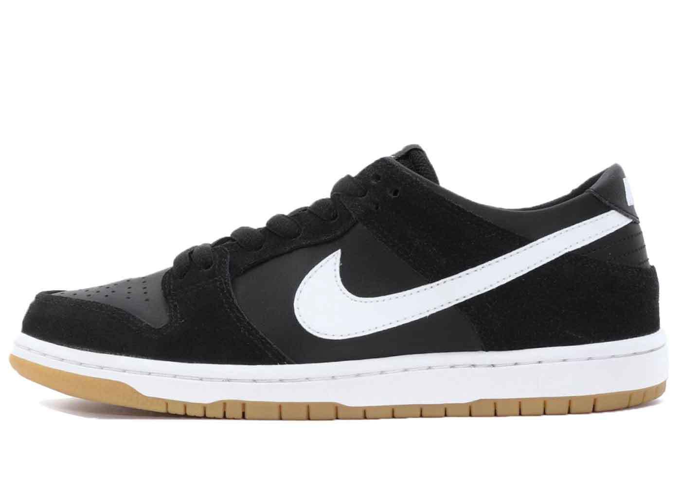 Nike SB Dunk Low Black White Gumの写真
