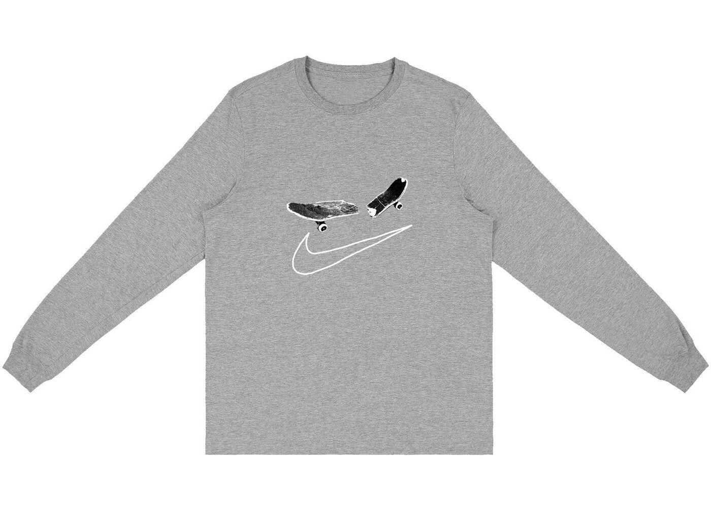 Travis Scott × Nike SB Cactus Jack For Longsleeve T-Shirt II Greyの写真