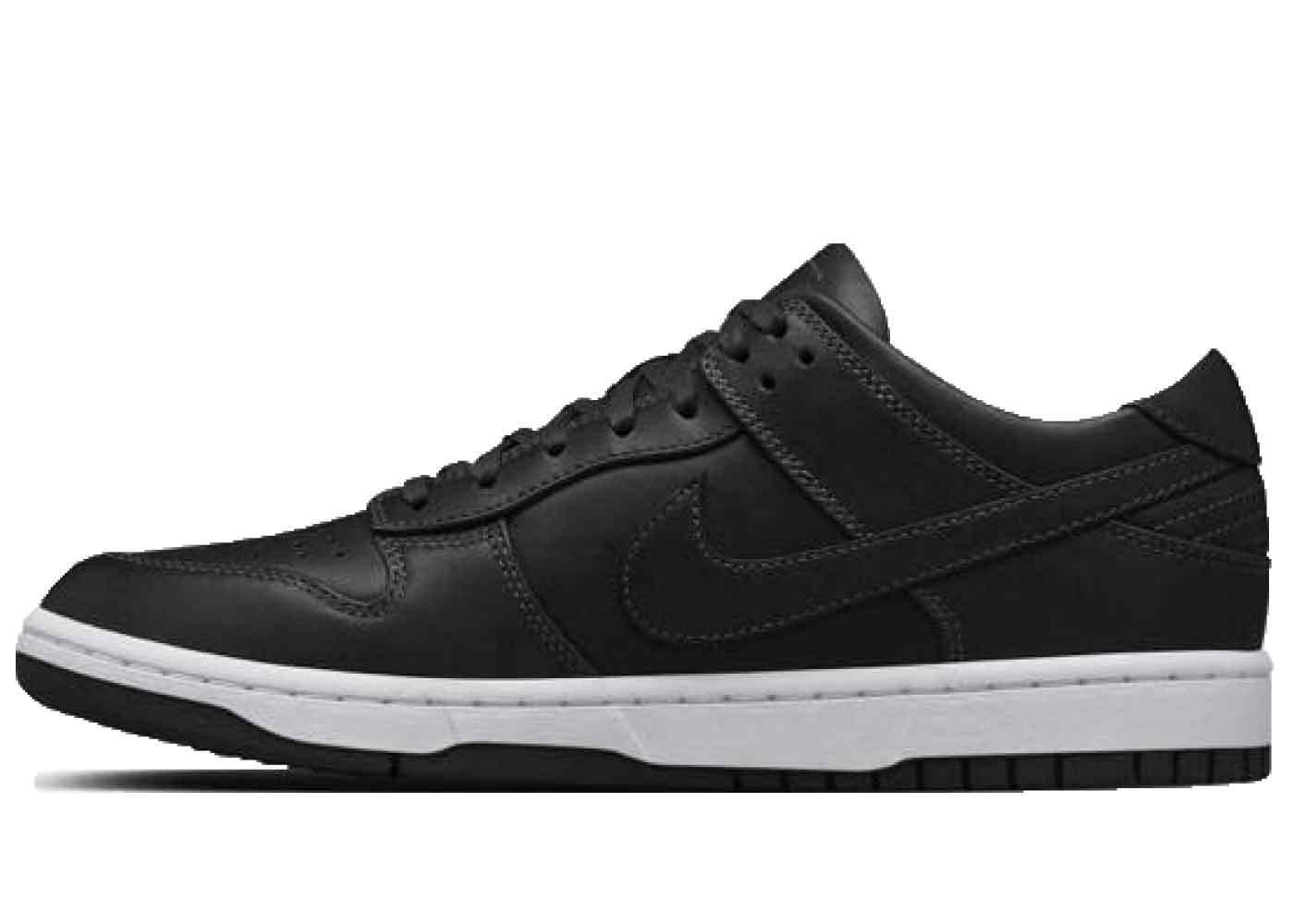 Nike Dunk Low Lux Black Whiteの写真