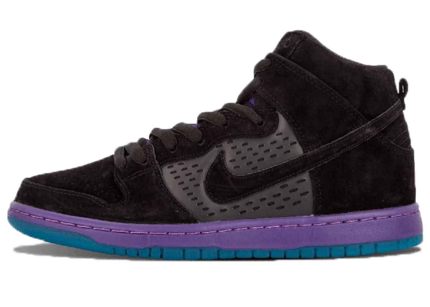 Nike SB Dunk High Black Grapeの写真