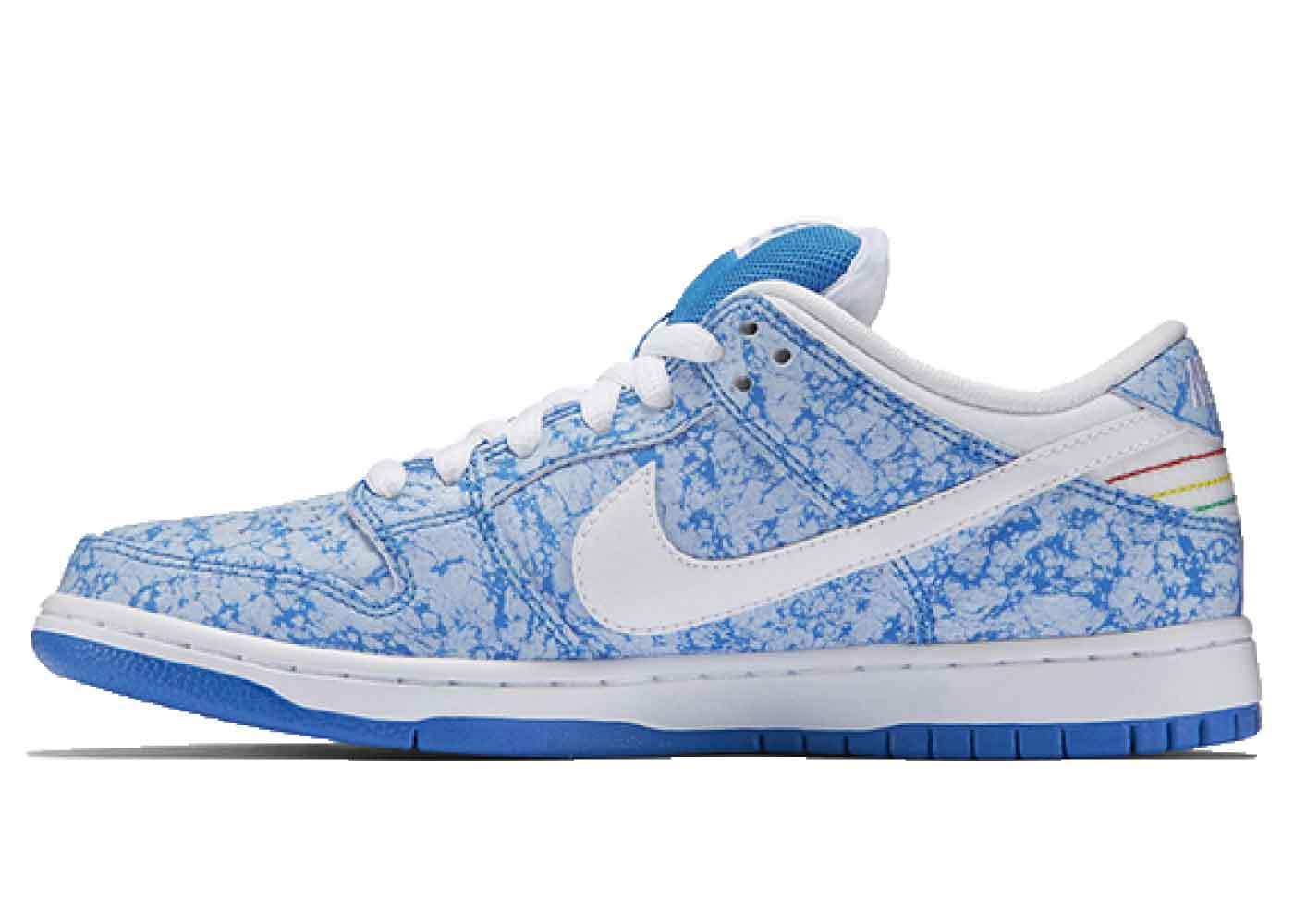 Nike SB Dunk Low Blue Marbleの写真
