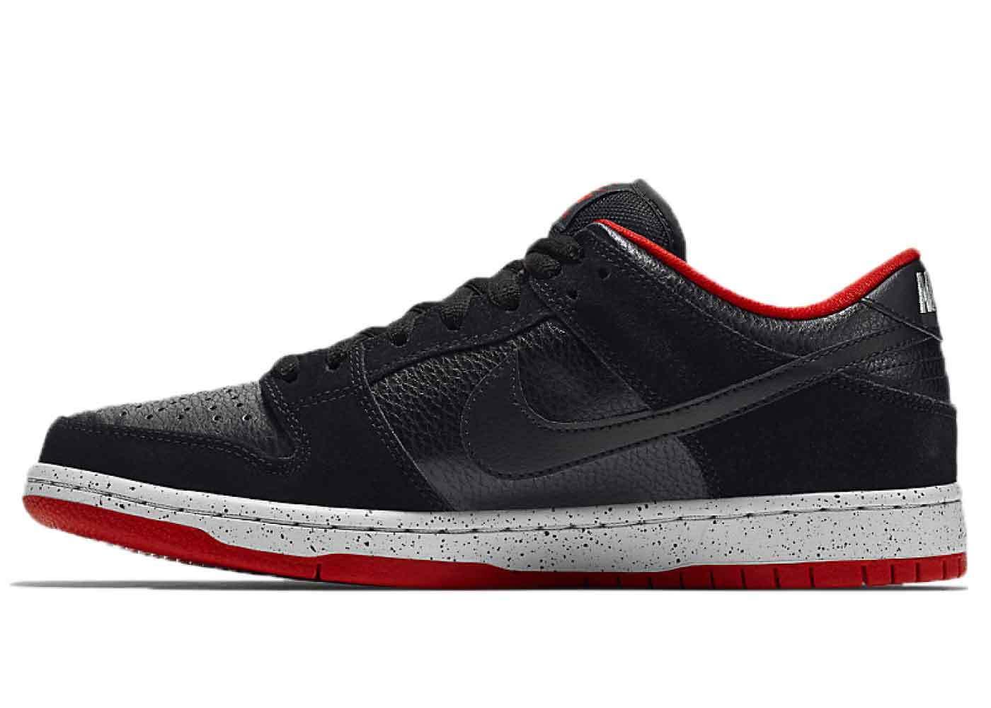 Nike SB Dunk Low Black Cementの写真