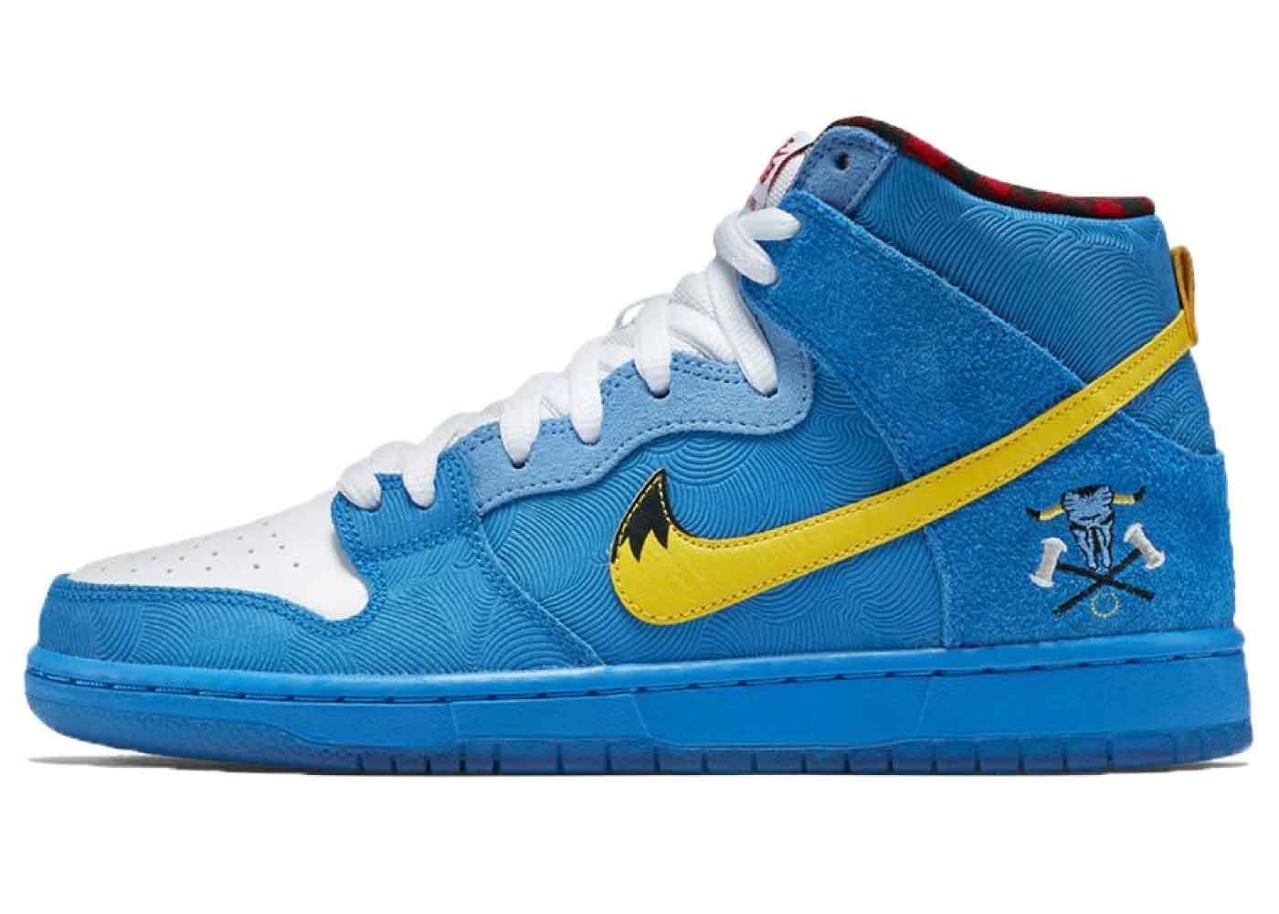 Nike SB Dunk High Familia Blue Oxの写真