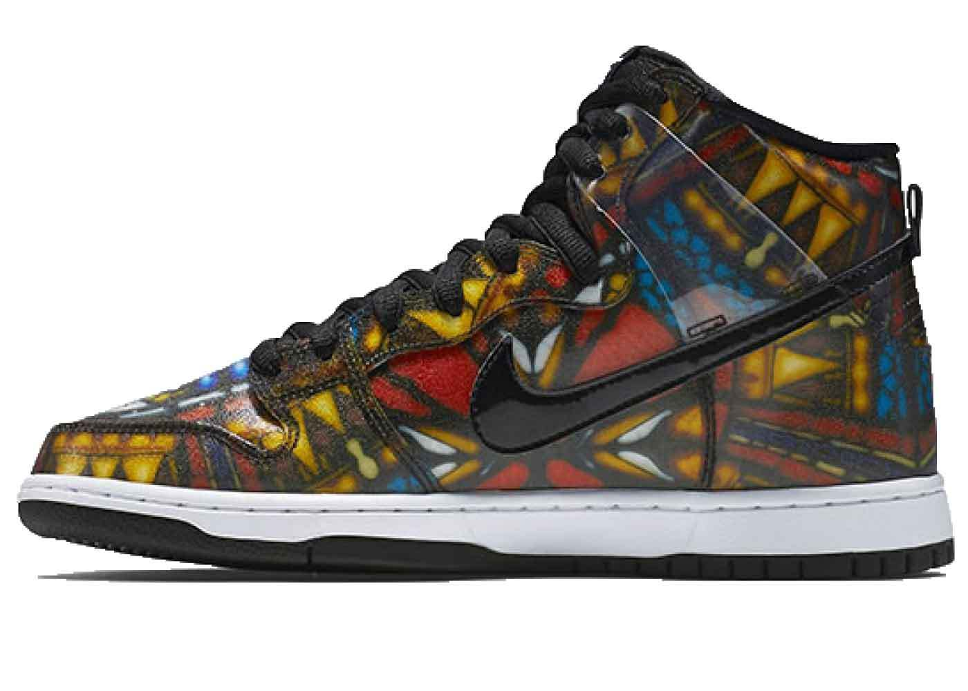 """Nike SB Dunk High Cncpts """"Stained Glass""""の写真"""