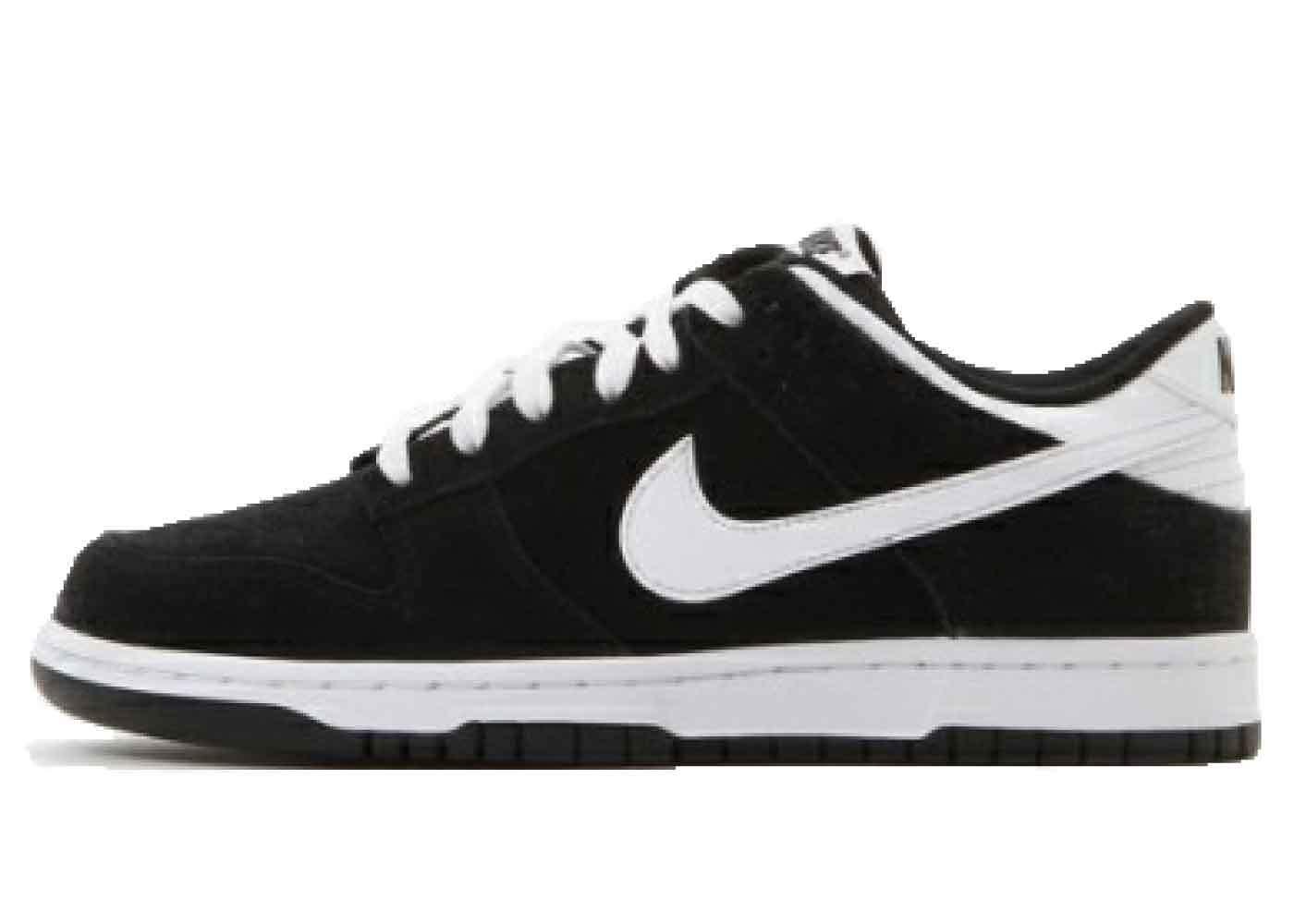Nike Dunk Low Black Whiteの写真