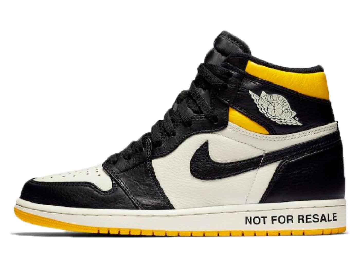 """Nike Air Jordan 1 Retro High """"Not for Resale"""" Varsity Maizeの写真"""