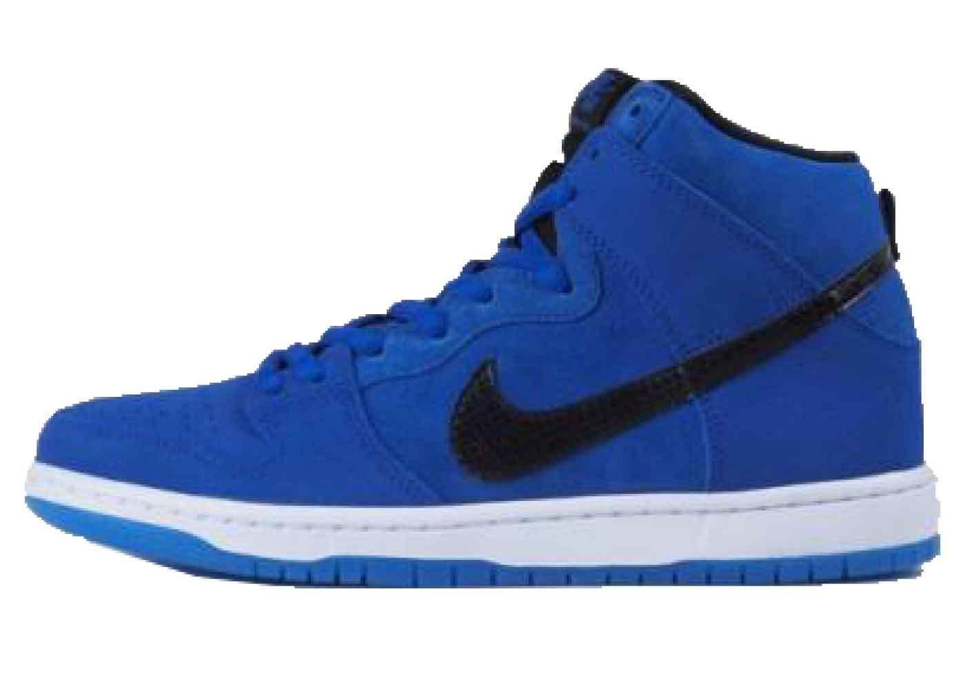 Nike SB Dunk High Game Royal Blackの写真