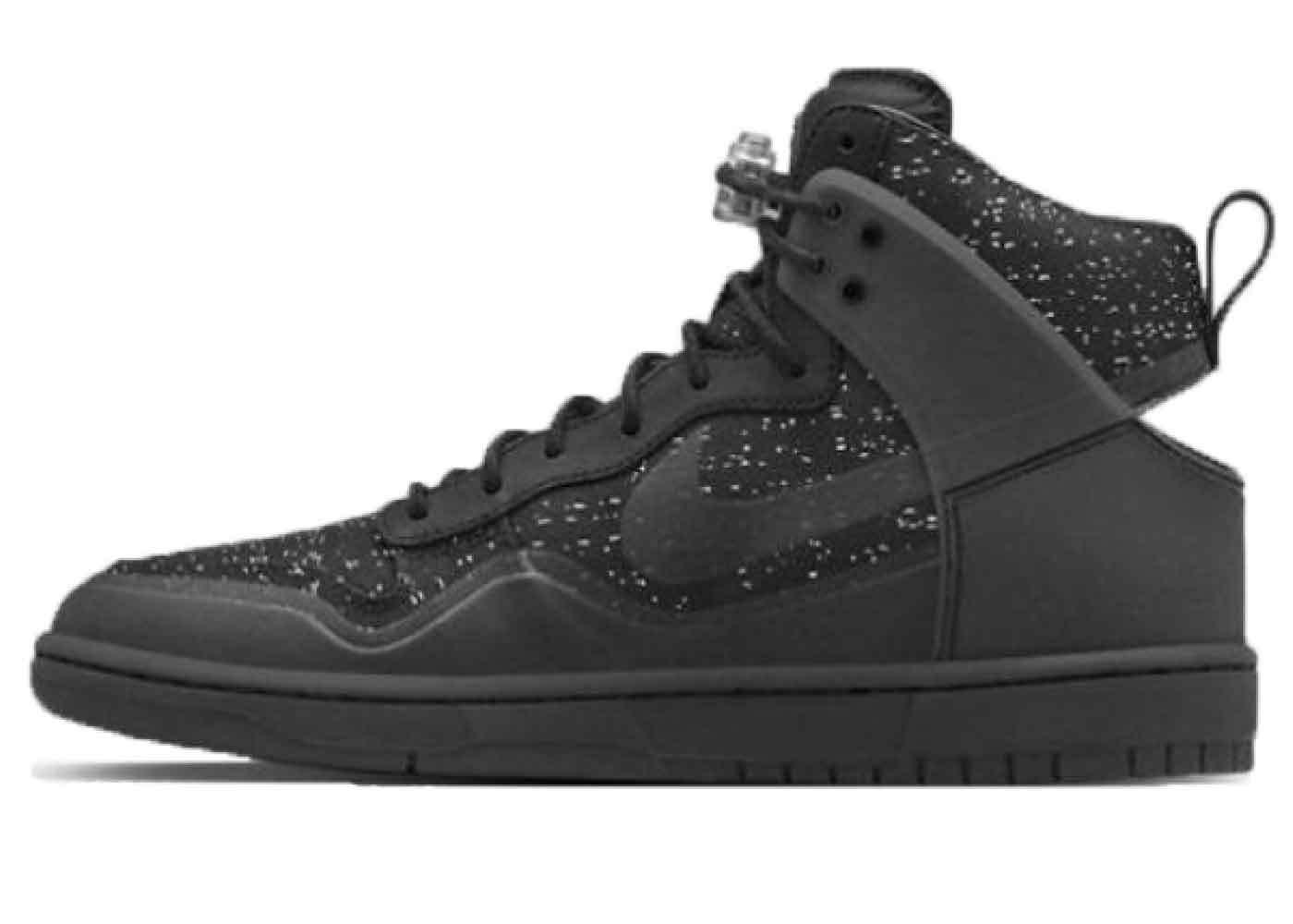 Nike Dunk Lux High Pigalle Blackの写真