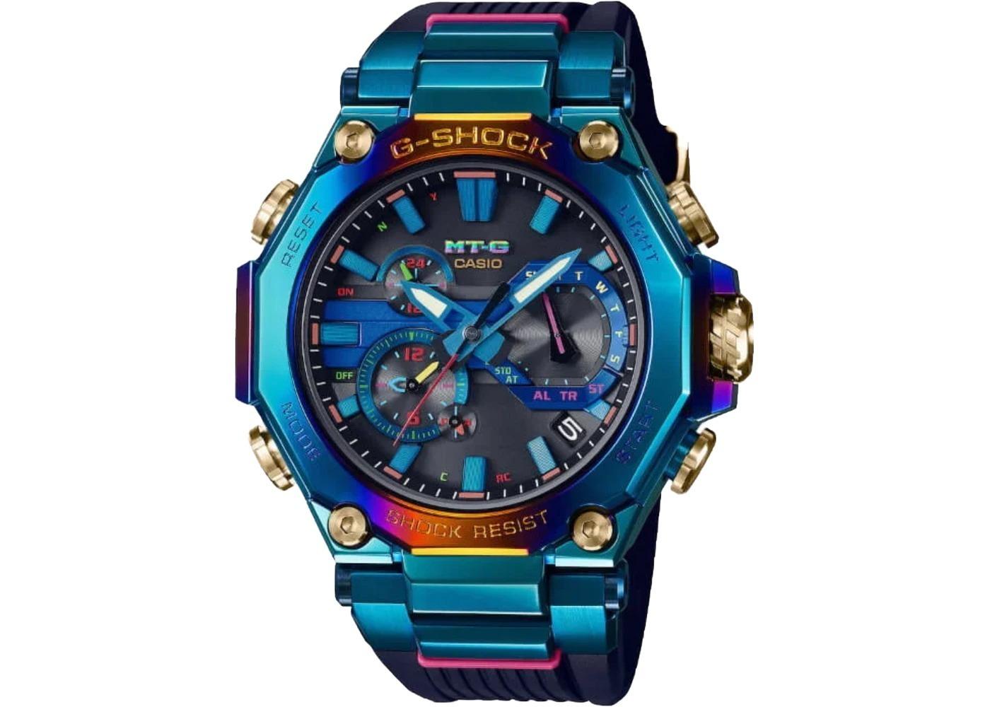 Casio G-Shock Blue Phoenix MTG-B2000PH-2A - 52mm in Stainless Steel の写真