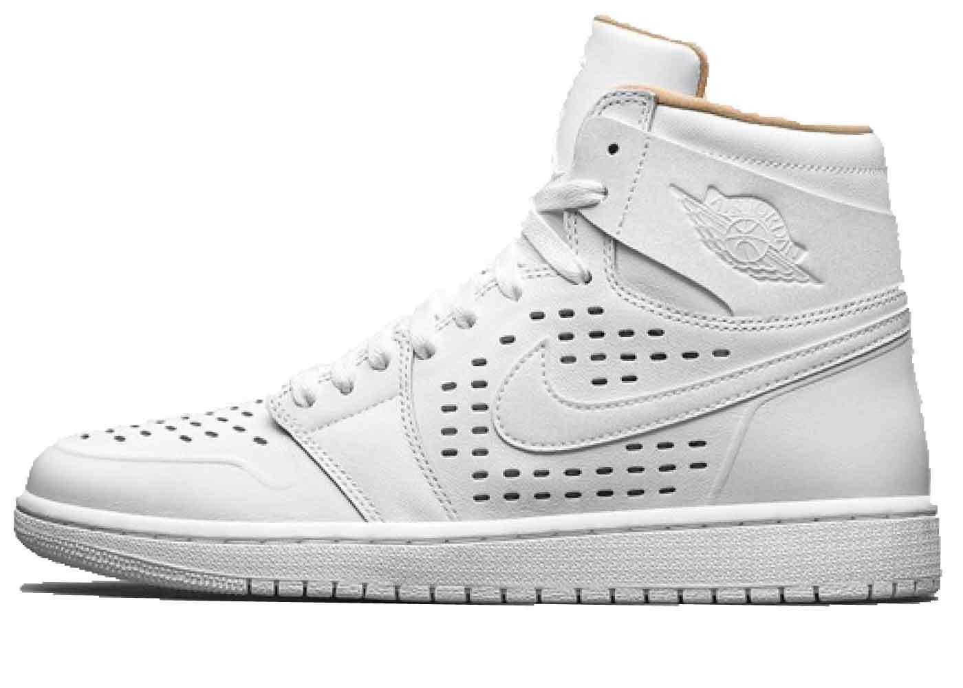 Nike Air Jordan 1 Retro White Vachetta Tanの写真