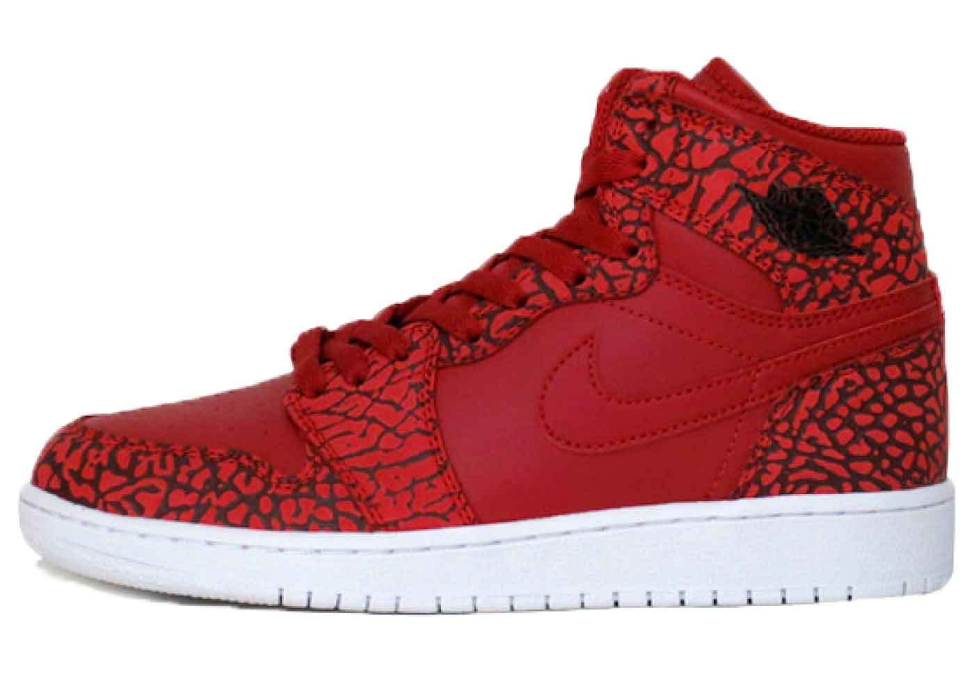 Nike Air Jordan 1 Retro Red Elephant Printの写真