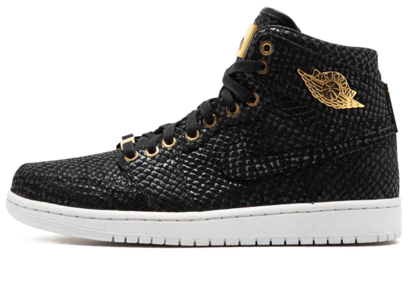 Nike Air Jordan 1 Retro Pinnacle Blackの写真