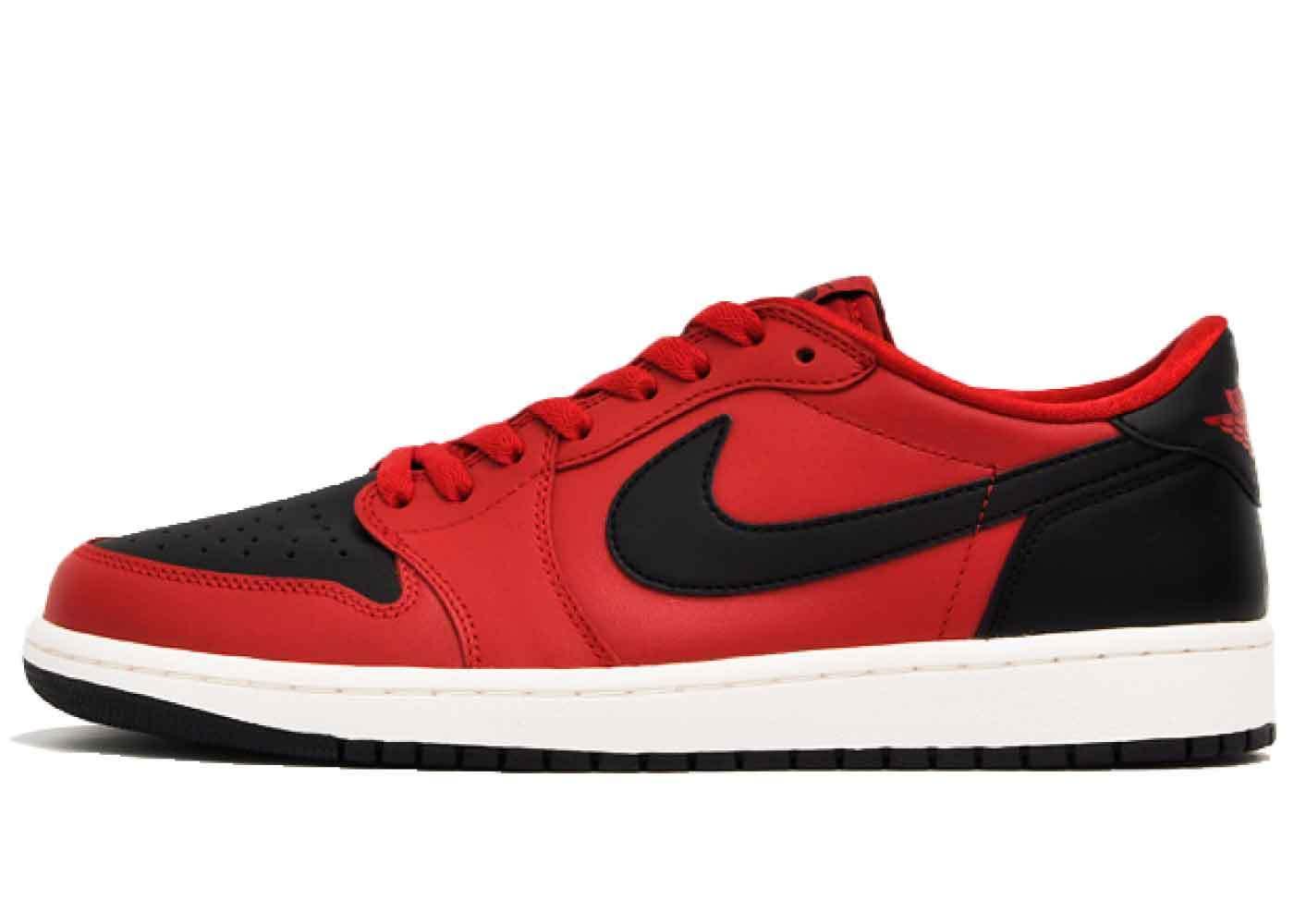 Nike Air Jordan 1 Retro Low Gym Red Blackの写真
