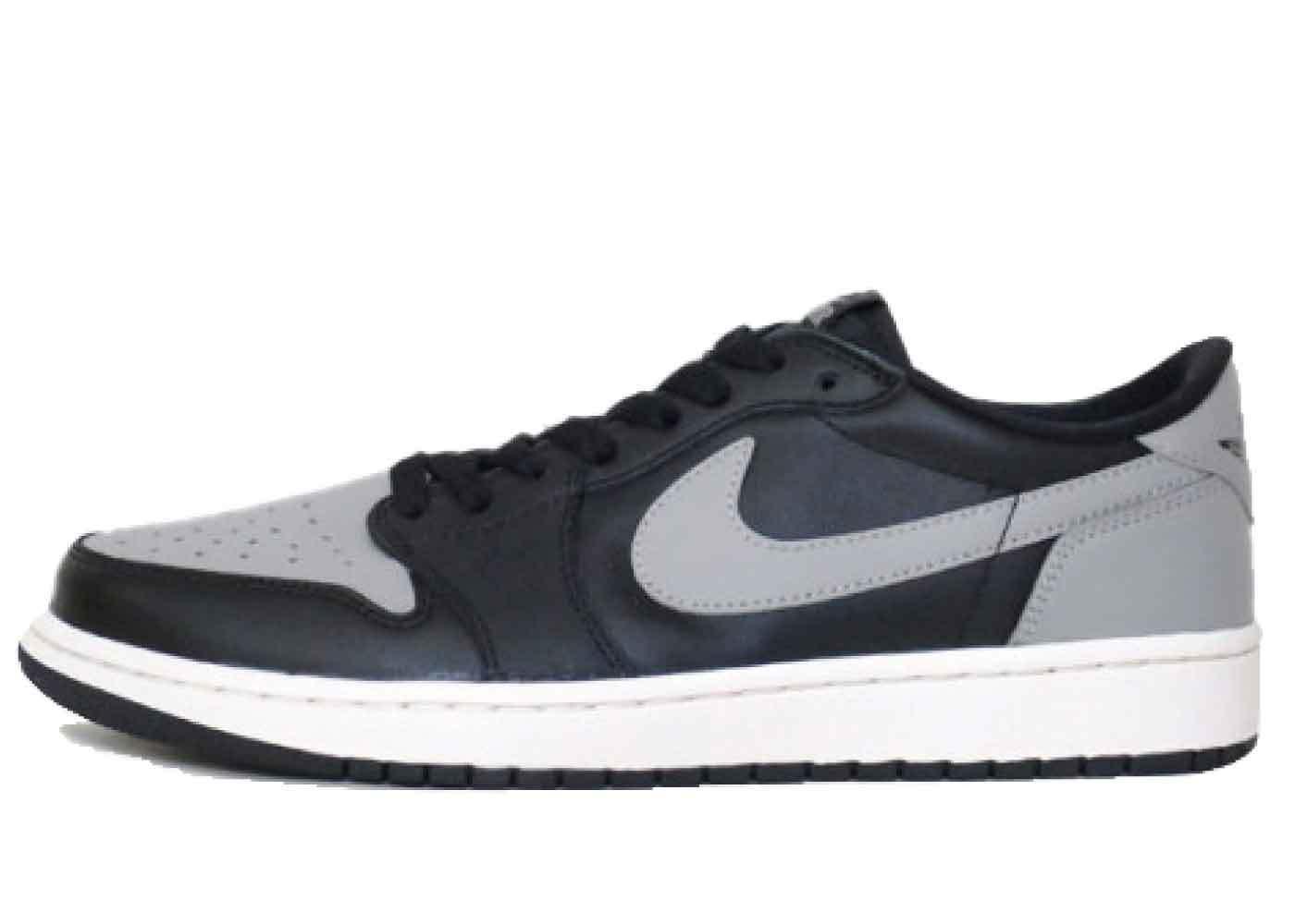 Nike Air Jordan 1 Retro Low Black Grey (2015)の写真