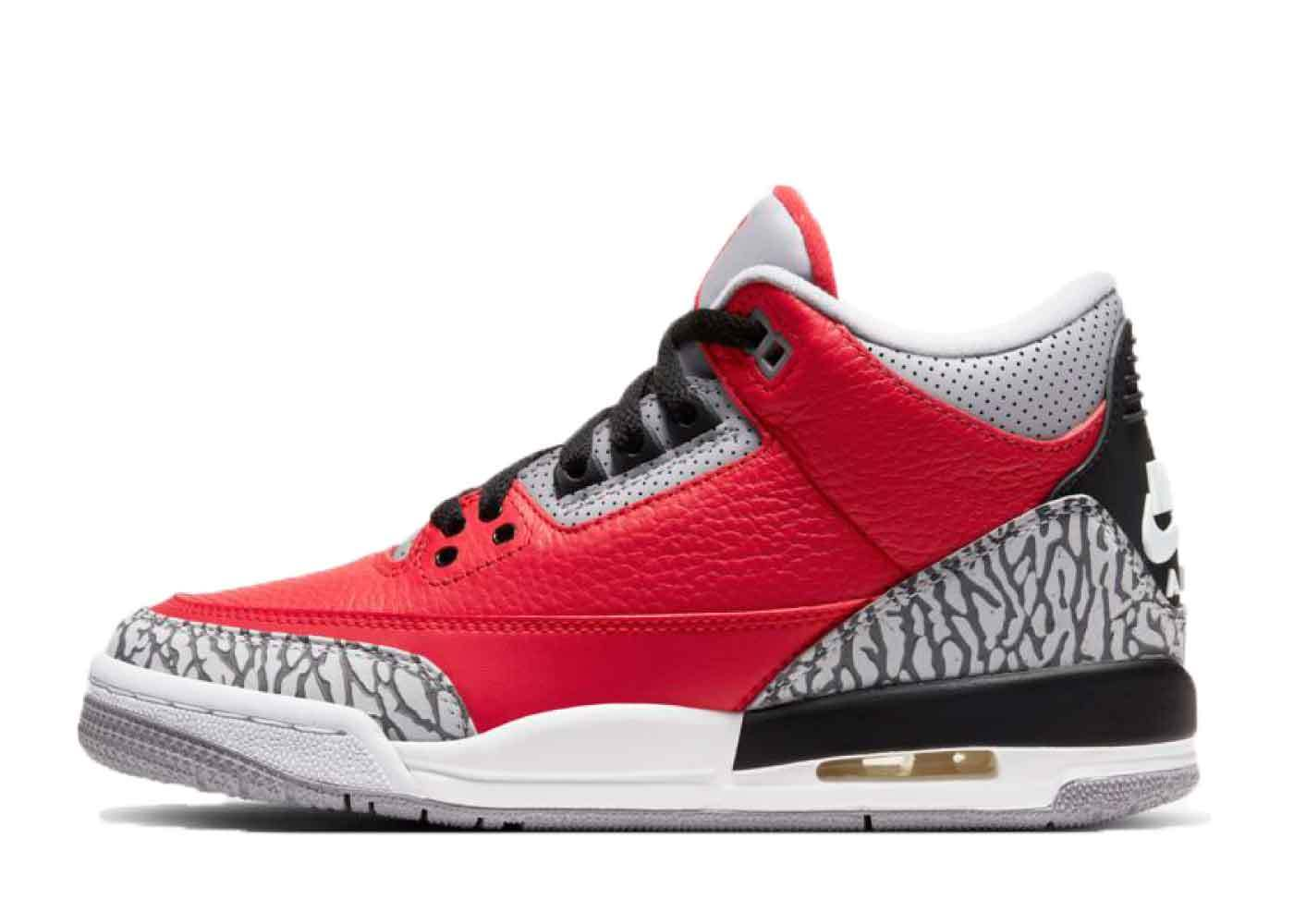 Nike Air Jordan 3 Retro Red Cement (GS)の写真