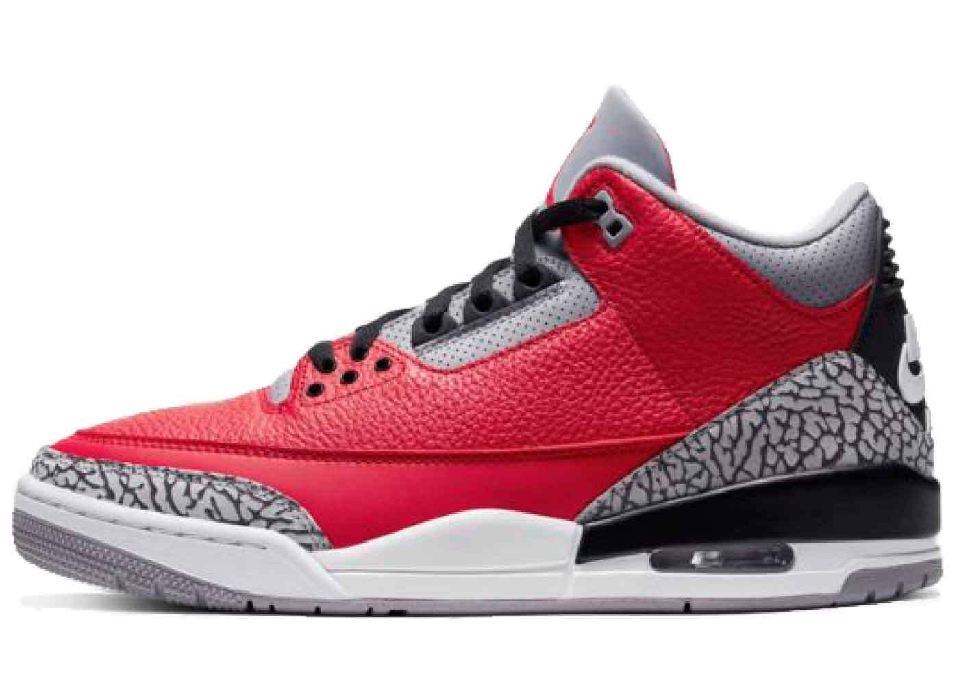 Nike Air Jordan 3 Retro Red Cementの写真