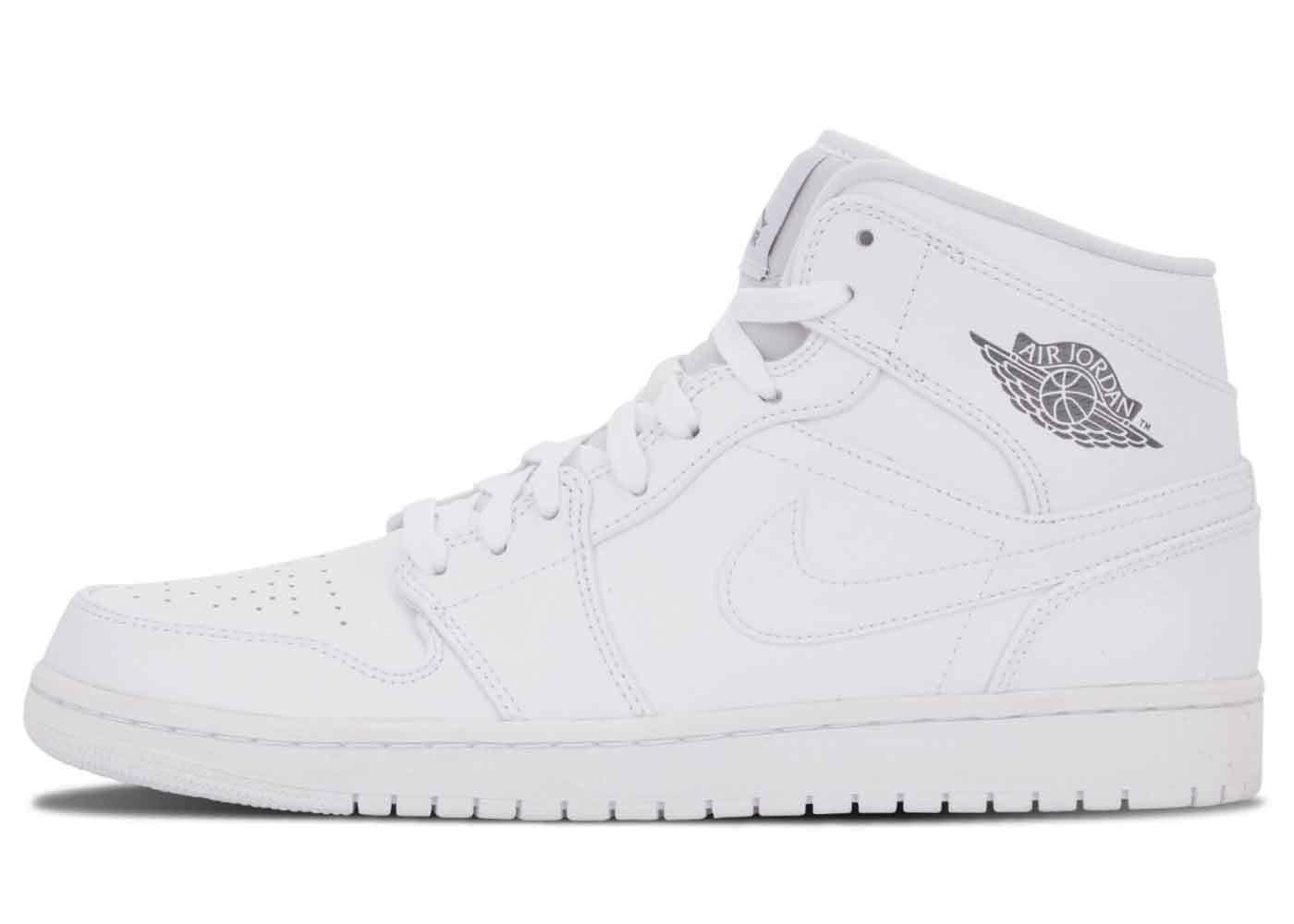 Nike Air Jordan 1 Mid White Cool Grey (2014)の写真
