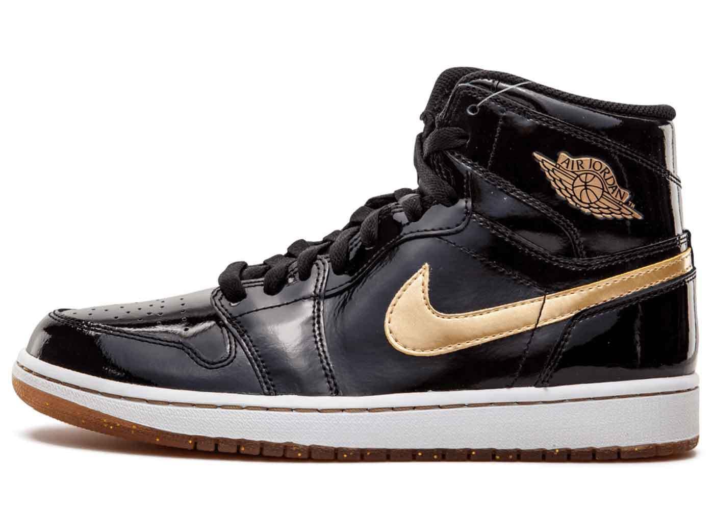 Nike Air Jordan 1 Retro Black Metallic Gold (2013)の写真