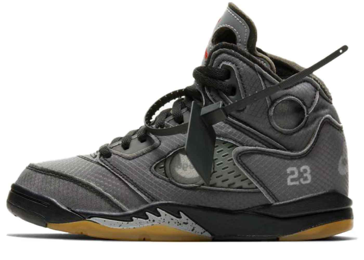 Off-White × Nike Air Jordan 5Little Kidsの写真