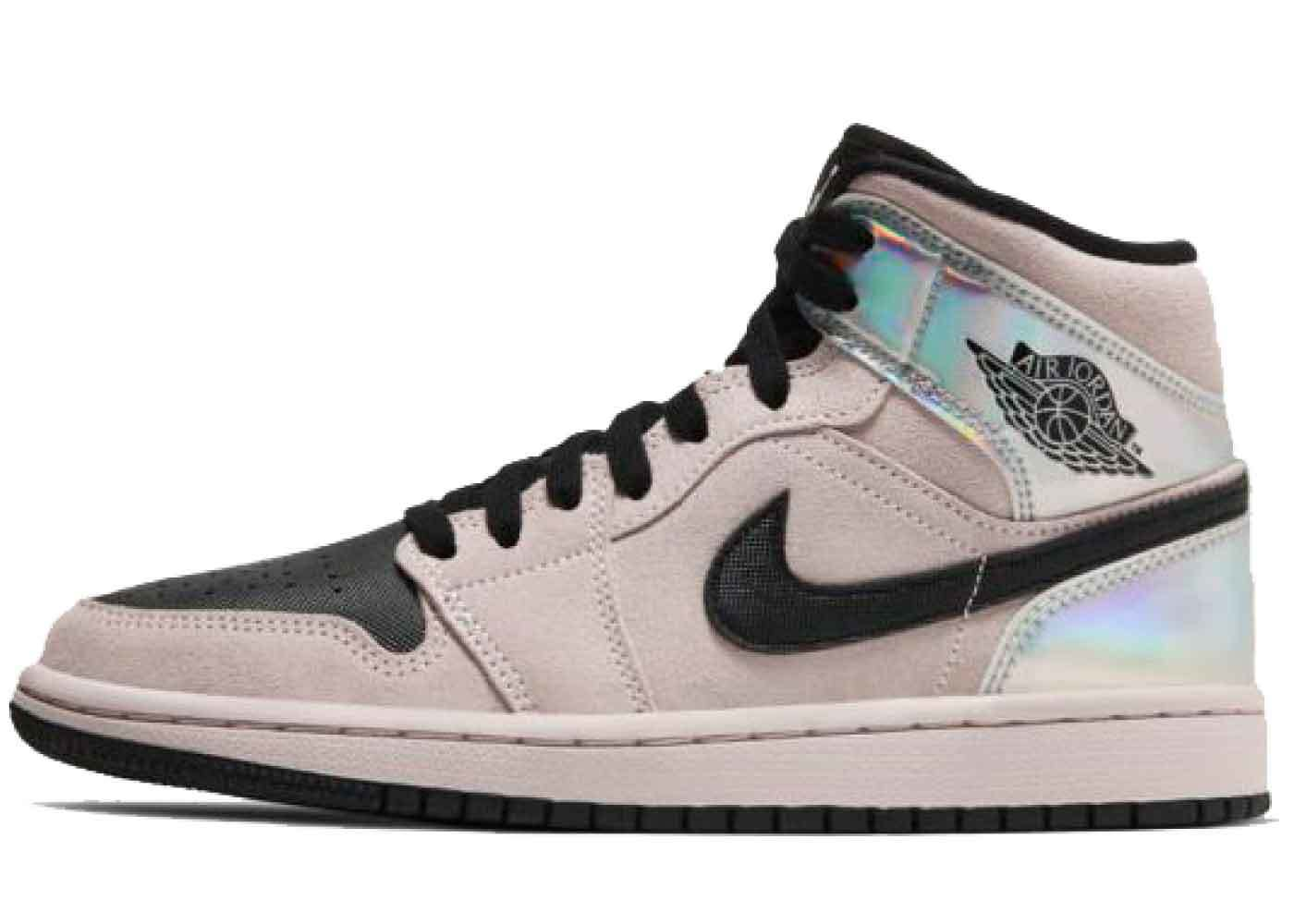 Nike Air Jordan 1 Mid Chrome Wings Womensの写真