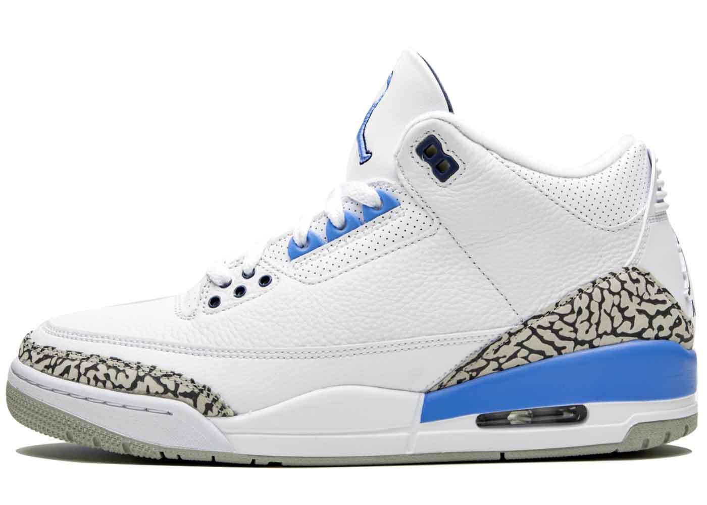 在庫あり】Nike Air Jordan 3 Retro UNCを安