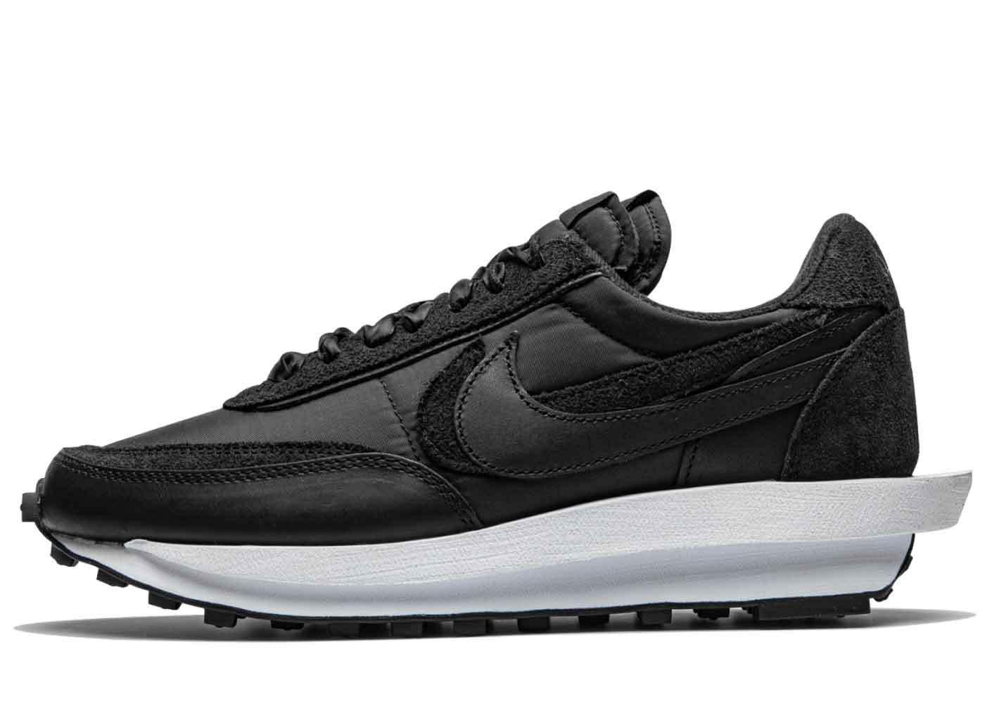 Nike LD Waffle Sacai Nylon Blackの写真