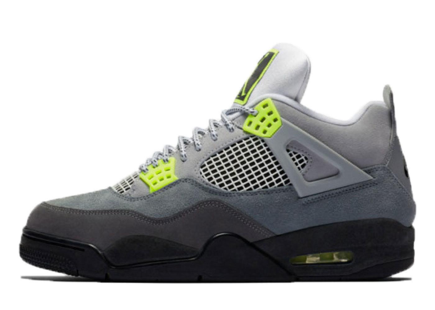 Nike Air Jordan 4 Retro 95 Neon (GS)の写真