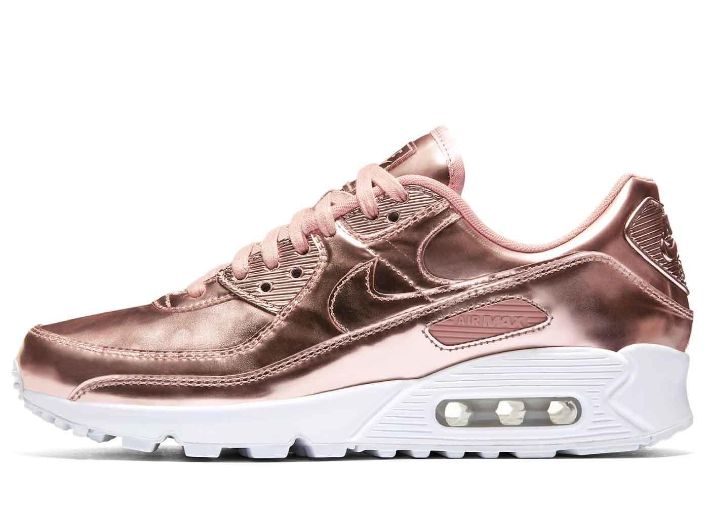 Nike Air Max 90 Rose Gold Womensの写真