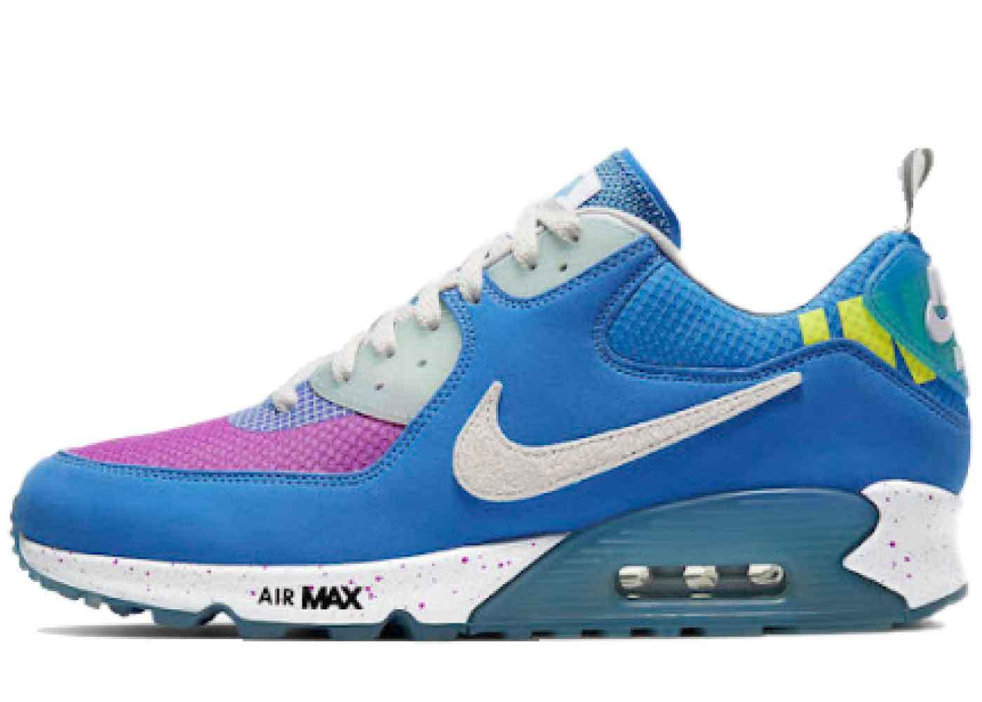 Nike Air Max 90 Undefeated Pacific Blueの写真