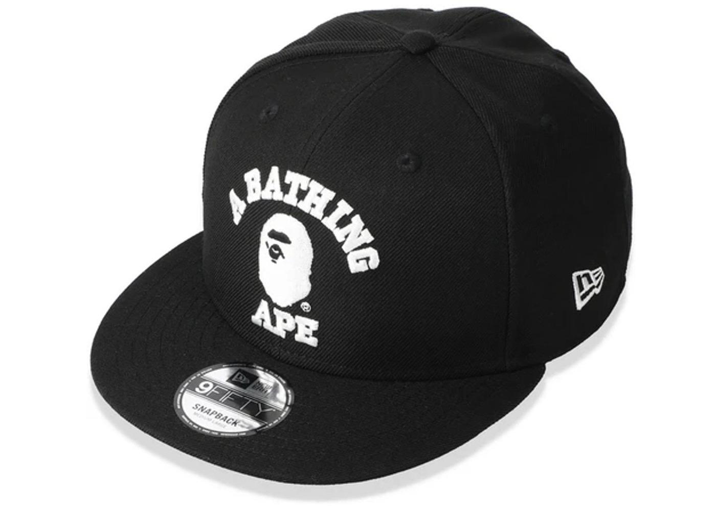 Bape College New Era Snapback Hat Black (SS21)の写真