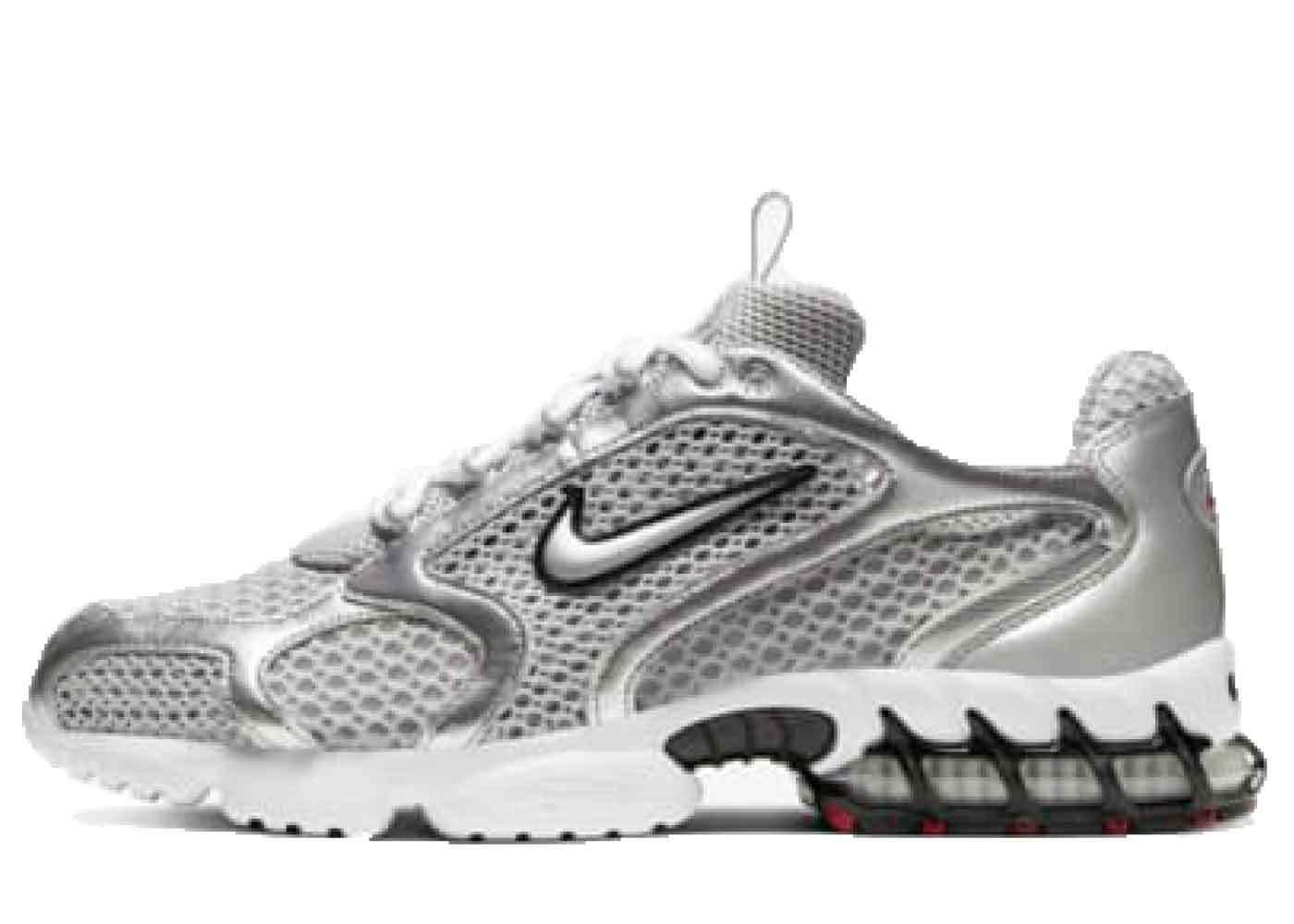 Nike Air Zoom Spiridon Cage 2 Metallic Silverの写真