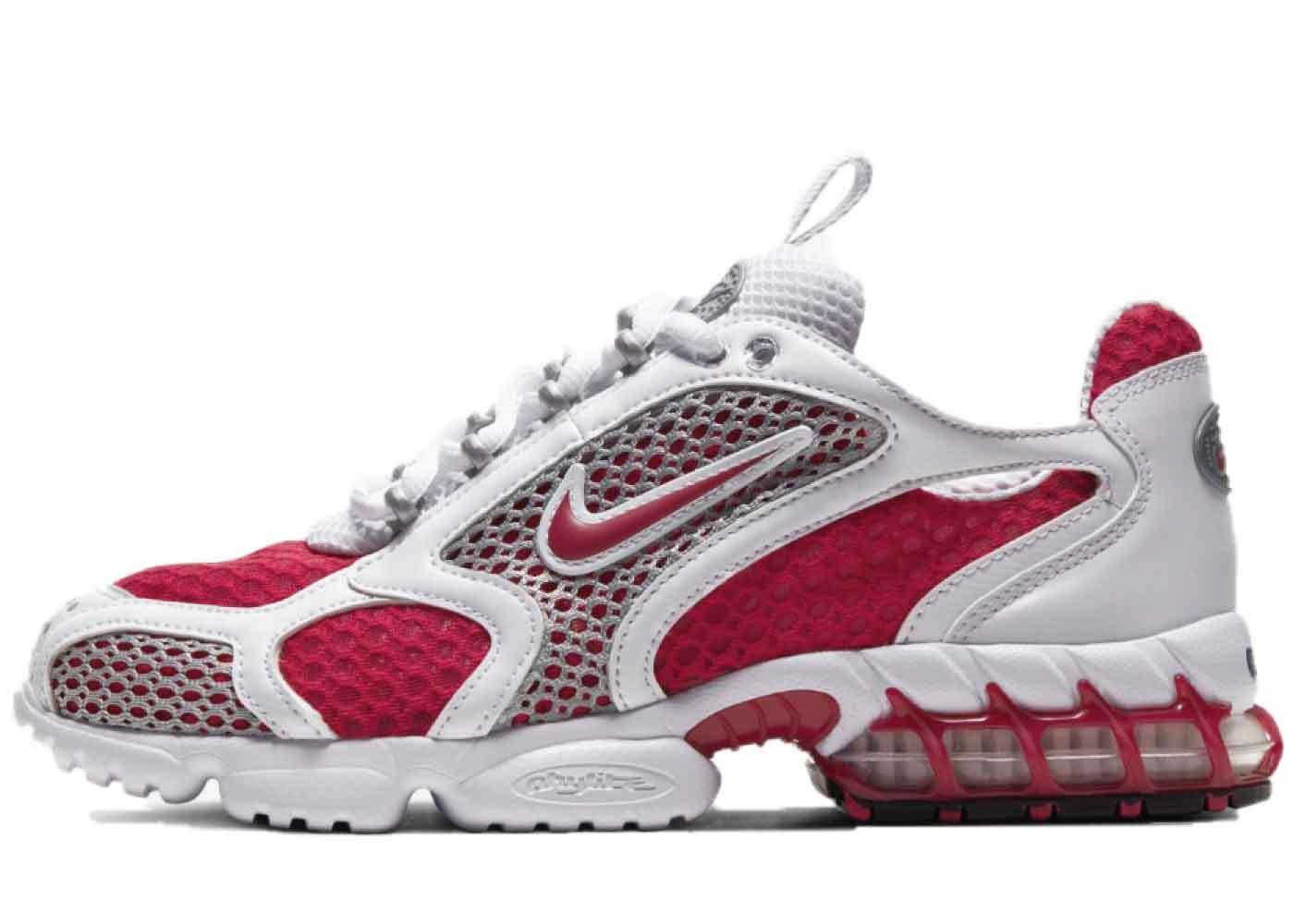 Nike Air Zoom Spiridon Cage 2 Cardinal Red Womensの写真