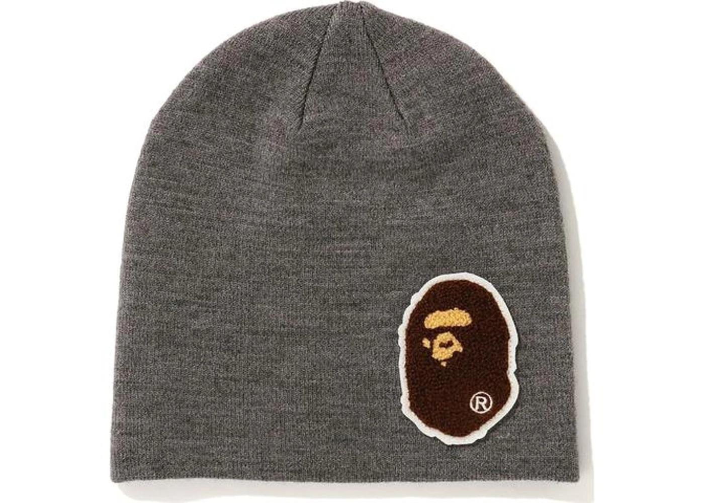 Bape Big Ape Head Knit Cap (FW20) Gray (FW20)の写真