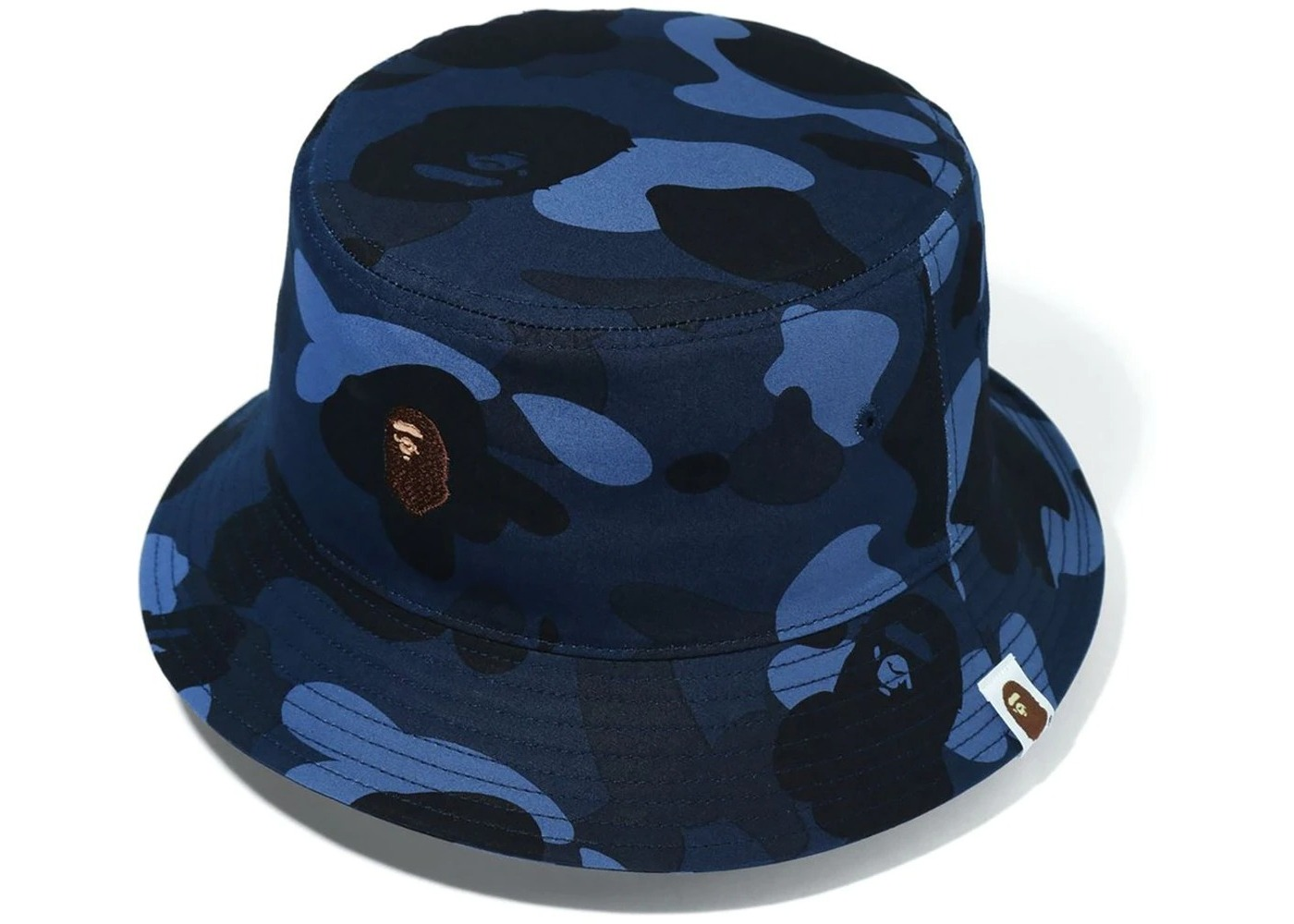 Bape Color Camo Bucket Hat Blue (FW20)の写真