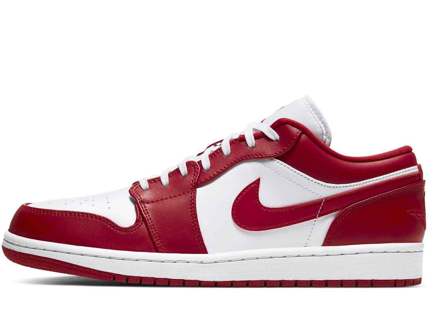Nike Air Jordan 1 Low Gym Red Whiteの写真