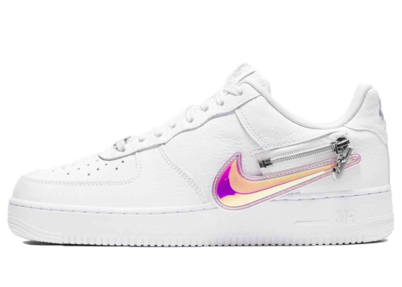 Nike Air Force 1 '07 White Zipperの写真