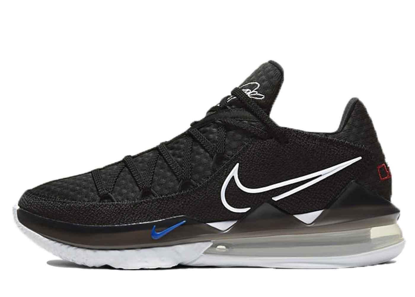 Nike LeBron 17 Low Black Multiの写真