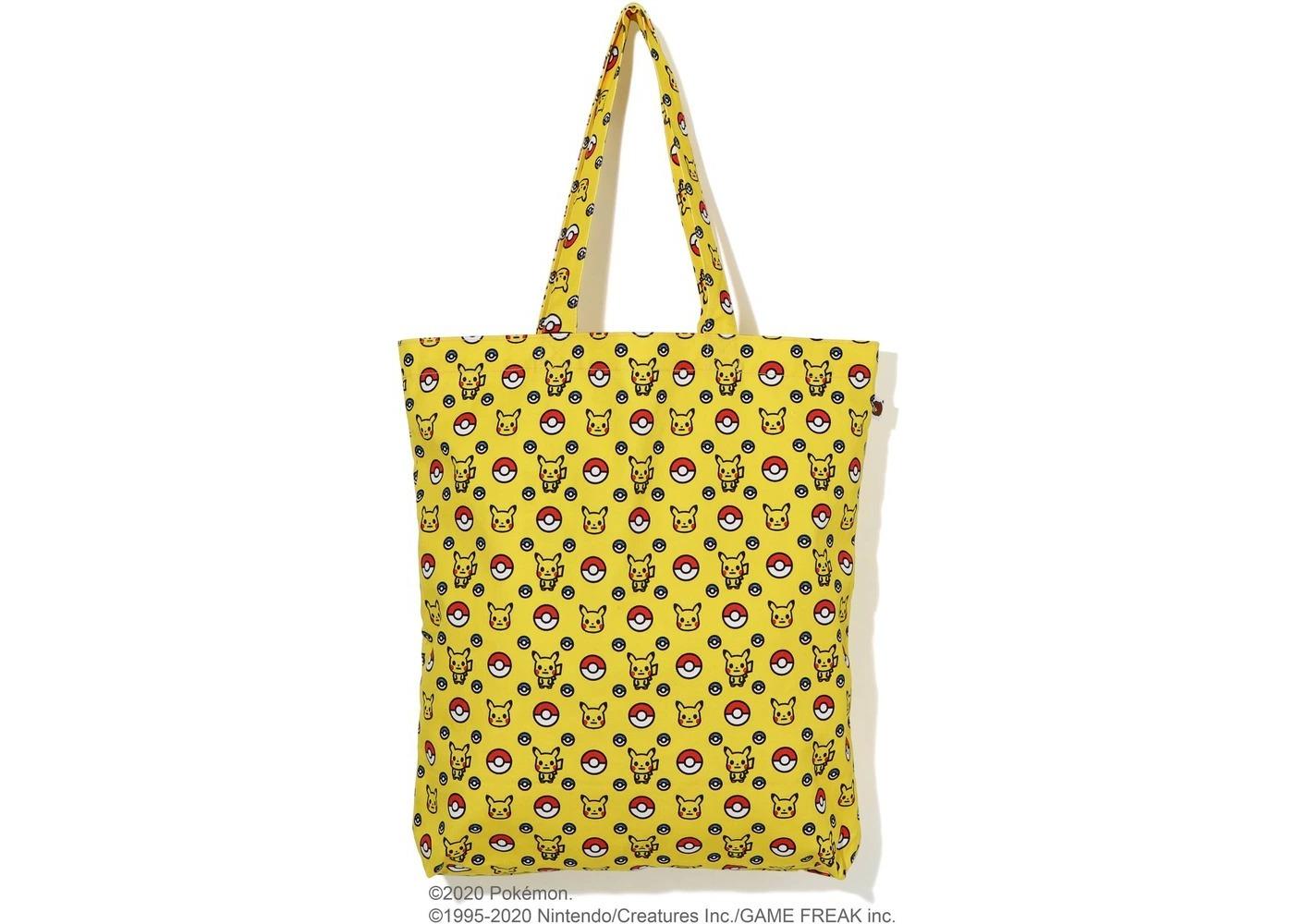 Bape x Pokemon Tote Bag Yellow (FW20)の写真